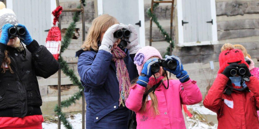 Young Naturalists Enjoyed a Successful Christmas Bird Count!