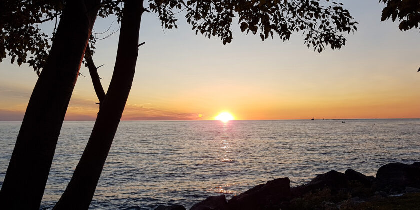 Enjoy A Late Spring Sunset From Goderich, Ontario